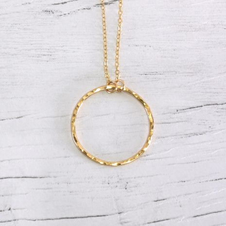 hammered-gold-fill-infinity-necklace-1