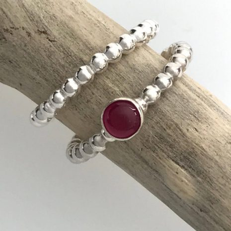 ruby-beaded-silver-stacking-ring-3
