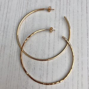 14k gold fill hoop earrings 4