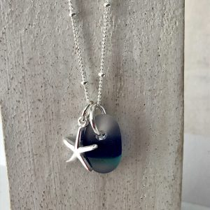 Sea glass necklace 5
