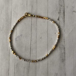 Silver and gold fill bracelet 6