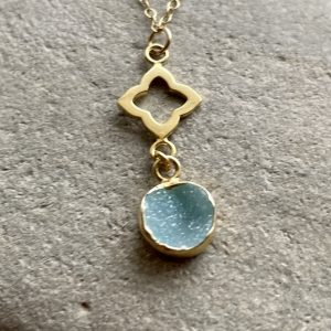 Gold fill charm necklace 9